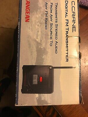 C.Crane FM STEREO TRANSMITTER. WITH INSTRUCTIONS. In Original Box Complete