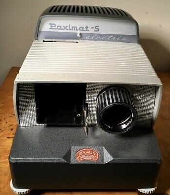 Photographic - Paximat Slide Projector & Magazines