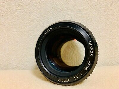 ⭐️Exc++++⭐️ Nikon Nikkor Non-Ai  55Mm F/1.2 Mf Lens From Japan