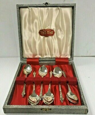 Apostle Spoons boxed set of 6 – Pall Mall Brand - London - Retro Vintage