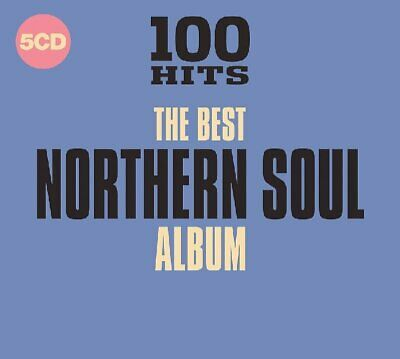 Various - 100 Hits: The Best Northern Soul Album (2018)  5CD  NEW  SPEEDYPOST
