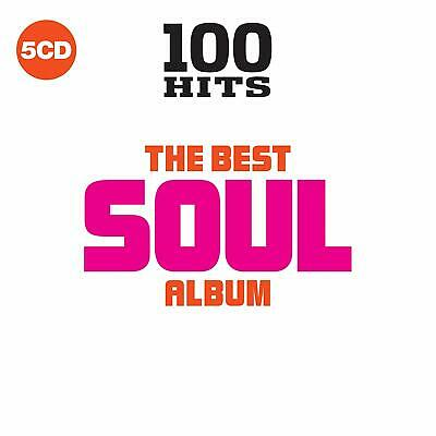 Various ‎- 100 Hits: The Best Soul Album (2018)  5CD  NEW/SEALED  SPEEDYPOST