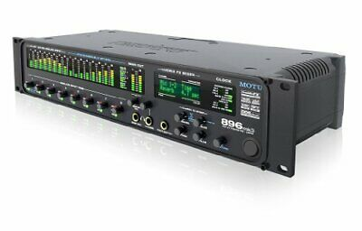 Motu 896Mk3 Hybrid 28 In 30 Out Firewire / Usb2 Audio Interface
