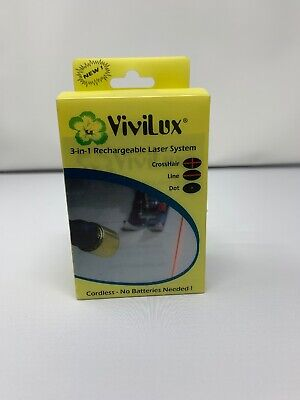 ViviLux (R) 3-in-1 Rechargeable Red Laser System