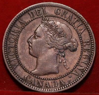 1900H Canada One Cent Foreign Coin