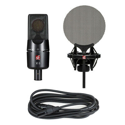 sE Electronics X1 S Vocal Pack Bundle w/ X1 S Microphone, Cable and Pop Filter