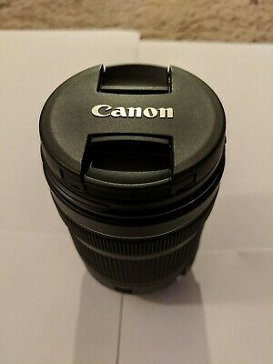 Used- Canon 1276C002 EF S 18-135mm f/3.5 to 5.6 IS USM Standard Zoom Lens