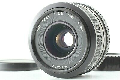 [AS-IS] Minolta MD 35mm f/2.8 New MD NMD Wide Angle MF Lens from Japan # 516