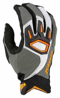 Klim Dakar Handschuhe Striking Gray L MX Enduro Sommer-Handschuhe gloves