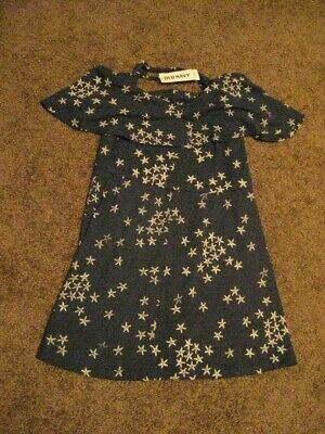 Old Navy  NWT  Girls Size 5   Navy  DRESS
