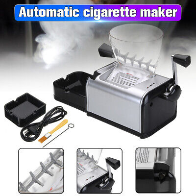 Electric Rolling Machine Automatic Cigarette Roller Injector 8mm Diameter Tube