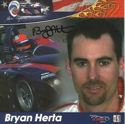 BRYAN HERTA *AMERICAN RACE CAR DRIVER* 8x8 Signed Autographed Photo