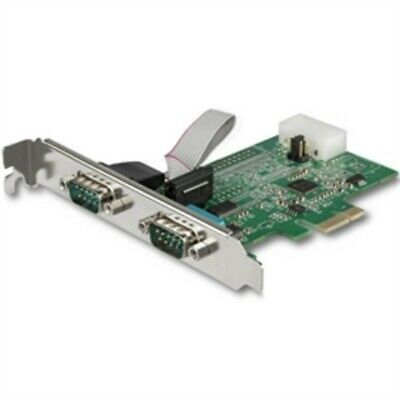2 Port PCI RS232 StarTech Serial Adapter Card w//16550 UART SrarTech.com