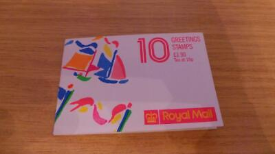 TB286: Royal Mail First Class Greetings Stamps x 10 - Philip Sutton - 1988