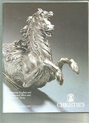Christie's Catalogue - Important English And Continental Silver & Objects Of Ver