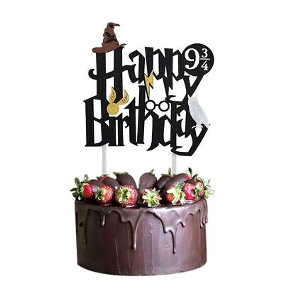 Harry Potter Cake Topper Party Decorations Decor