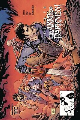 Death To Army Of Darkness #3 Mcfarlane Spiderman Homage Cover B Variant Evil Dea