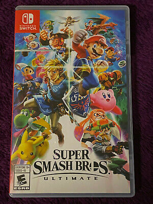 Super Smash Bros. Ultimate (Nintendo Switch) EXCELLENT. Tested.