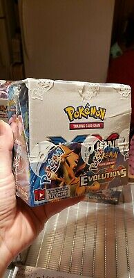 Pokemon XY Evolutions Sealed Booster Box
