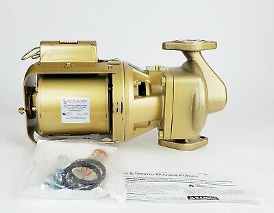 Bell & Gossett 102208LF PR AB Booster Pump 1/6HP, New!