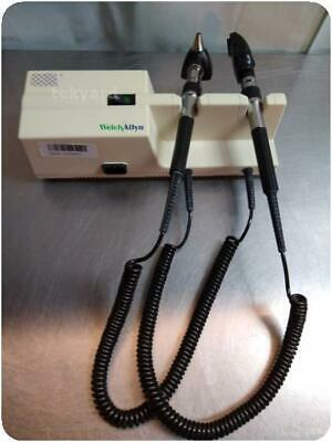 Welch Allyn 767 Series  Wall Transformer Otoscope / Ophthalmoscope ! (239491)