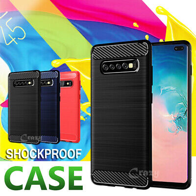 Shockproof Heavy Duty Case Cover Samsung Galaxy S8 S9 S10 Plus S10e Note 8 9 10+