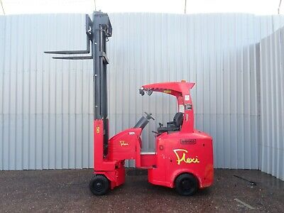 FLEXI G4AC, 2000Kg. USED ARTICULATED ELECTRIC FORKLIFT TRUCK. (#2743