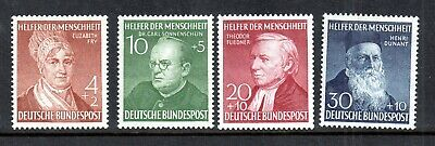 Germany 1952 Humanitarian Relief mint LHM set Cat Val £140 WS16545