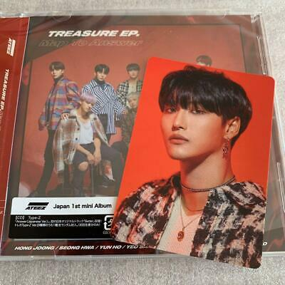 ATEEZ TREASURE EP. Map To Answer CD Z ver. photocard set photo card SEONGHWA