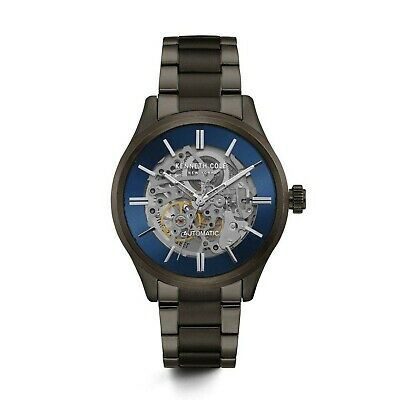Kenneth Cole New York Men's Automatic Stainless Steel Case Stainless Steel Br...
