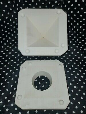 1983 Duncan Molds DM-1695 Miniature Clock Pyramid Ceramic Slip Casting Mold