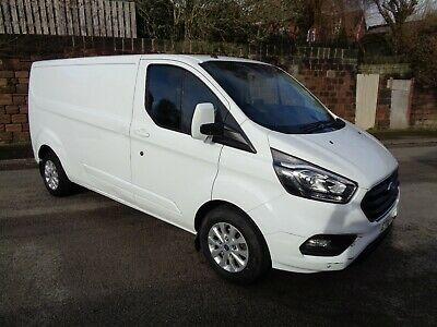 2018 - 18 Plate - Ford Transit Custom Limited LWB Van - Salvage - Damaged