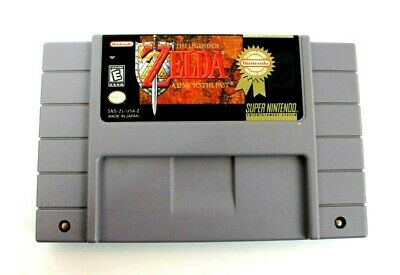 The Legend of Zelda: A Link to the Past Super Nintendo SNES 1992- Players Choice