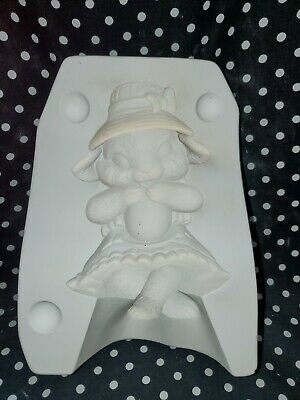 2003 Riverview Molds 997 Girl Bunny Easter Ceramic Slip Casting Mold
