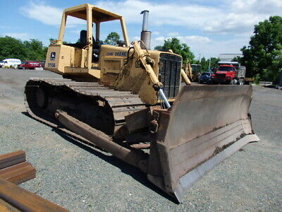 Used 1991 John Deere 850B Dozer, 5502 hours, 200hrs on New U/C 13'6' Blade