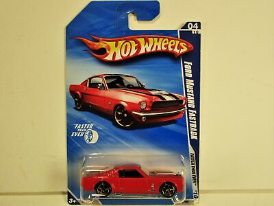 Hot Wheels 1965 Ford Mustang Fastback 2+2 New In Package Super Nice Car