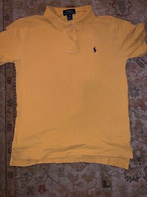Boys Red Ralph Lauren Polo T Shirt Age 10-12 Years