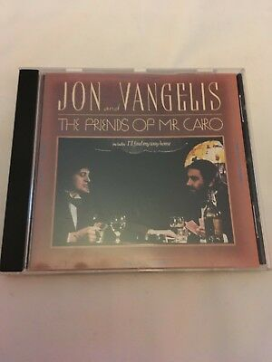 Jon and Vangelis - Friends of Mr Cairo Polydor CD