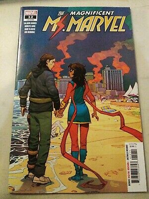 Magnificent Ms. Marvel #12 Main Cover Marvel Comics 2020 VF/NM
