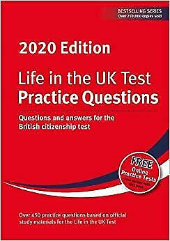 Life In The UK Test Practice Questions 2020 Questions And Answers For The Briti