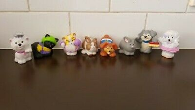 Fisher Price Little People - Kittens, Puppies and Bunny.