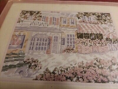 Needle Treasures~Shady Promenade~Shabby Chic~Garden~Storefronts~ Needlepoint Kit
