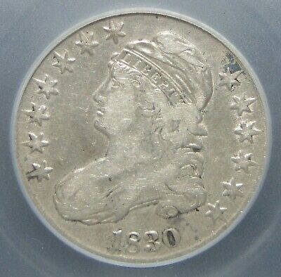 1830 Capped Bust Silver Half Dollar, ICG GRADED!!!