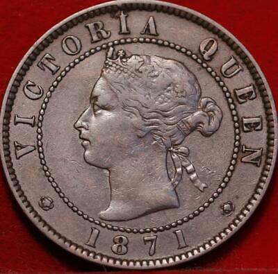 1871 Prince Edward Island One Cent Foreign Coin