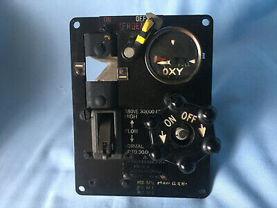 Vintage Aircraft (Possible Latest Spitfire) Mk16A Oxygen Regulator Type 6D/158