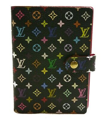 Authentic LOUIS VUITTON Agenda PM notebook cover PVC #1500