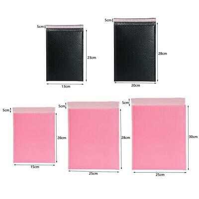 Pastel Pink Poly Bubble Mailers Padded Bags Shipping Self Envelopes Mailing