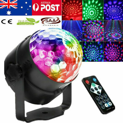 RGB Party Disco DJ LED KTV Stage Effect Light Lamp Laser Crystal Magic Ball