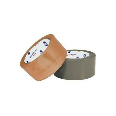 Natural Rubber Tape, 2.9 Mil, 2 x 55 yds., Tan, 36/Case