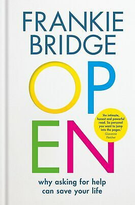 Signed Book - OPEN by Frankie Bridge